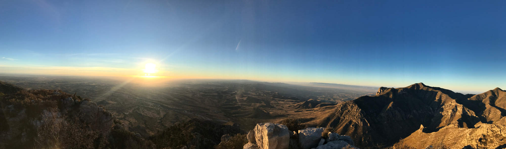 Hunter Peak Sunrise